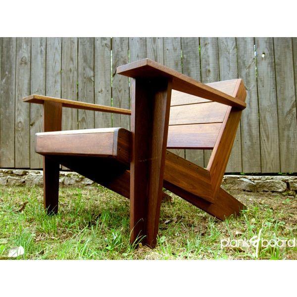 Custom Made Modarondack - Modern Adirondack Chair