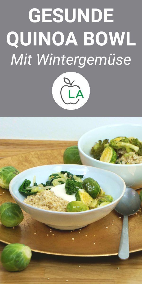 Gesunde Quinoa Bowl – Fitness Rezept zum Abnehmen