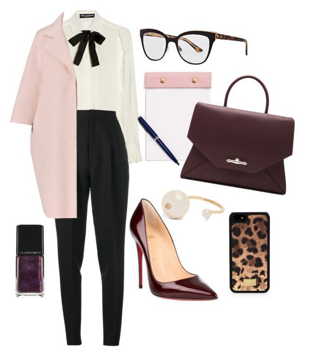 """The Boss"" by petra0710 ❤ liked on Polyvore featuring Dolce&Gabbana, Yves Sain... 9"