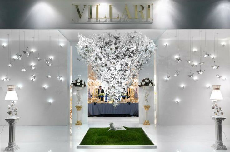 Springtime by Villari Salone del Mobile – April 2013  Perfumes, butterflies and a lot of colour are the key elements that VILLARI chose for the 2013 edition of Salone del Mobile.