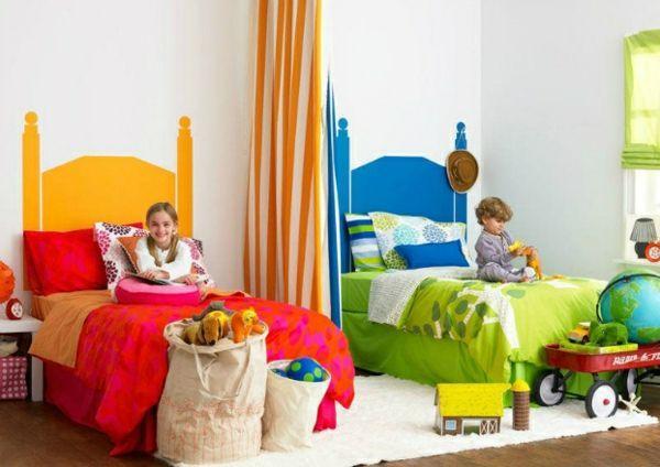 Kinderzimmer 30 Ideen Fur Kinderzimmergestaltung Ergonomische Gemutlichkeit In 2020 Kinder Zimmer Gemeinsames Schlafzimmer Kinderschlafzimmer