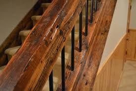 barn wood & wrought iron stair railings - Google Search