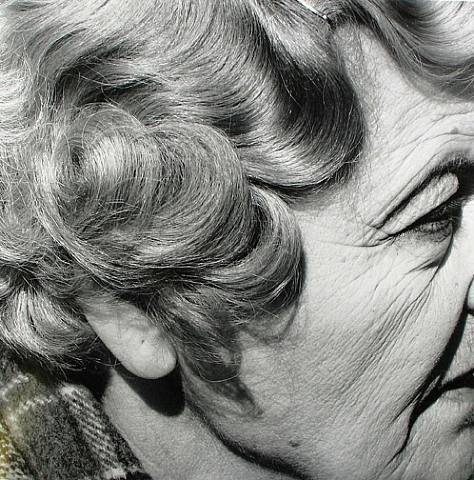 David Goldblatt Woman with pierced ear, Joubert Park, Johannesburg 1975 Gelatin silver print