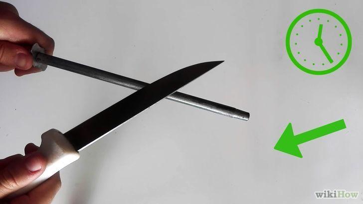 3 formas de afilar un cuchillo