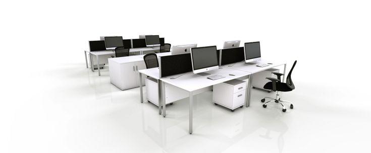 White Office Furniture Range  Black  furniture for office