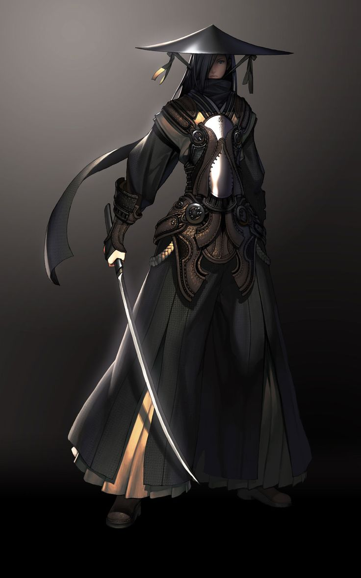 Blade & Soul - Character Design. I can't WAIT for this game to come out...