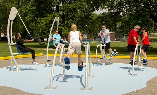 Active Aging Tips: It's time to get moving on outdoor playgrounds for the senior set. Are you ready to help your community purchase health equipment?