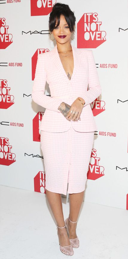 Look of the Day - November 19, 2014 - Rihanna in Altuzarra from #InStyle