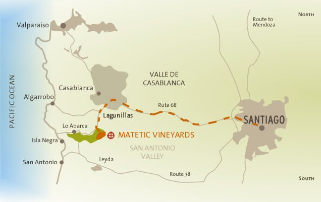 Matetic Vineyards. Lo Abarc