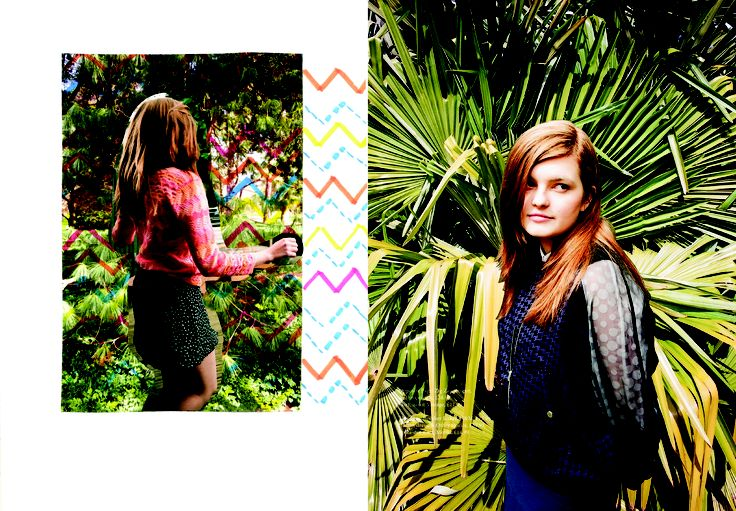 Our model Esme takes a walk round the Cambridge University Botanical Gardens. Photography- @Becky Chambers
