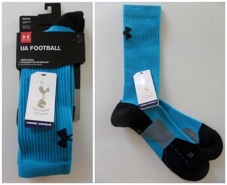 2016/17 Under Armour Tottenham Hotspur Crew Socks Football Soccer Kit UK 3-7.5 #UnderArmour