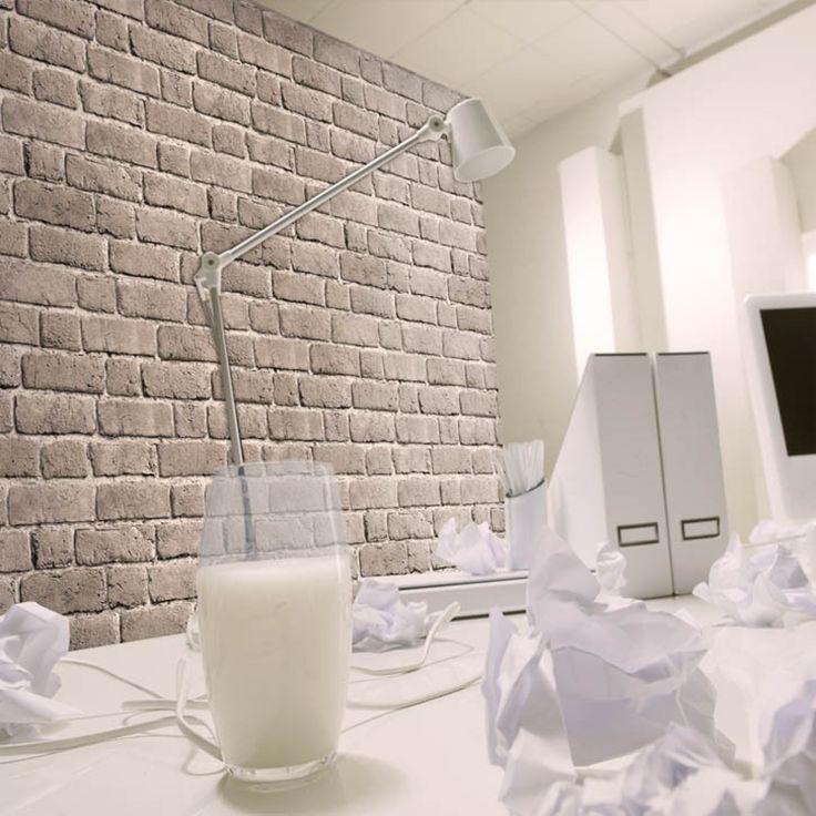 Les 25 meilleures id es de la cat gorie papier peint for Papier peint trompe l oeil cuisine