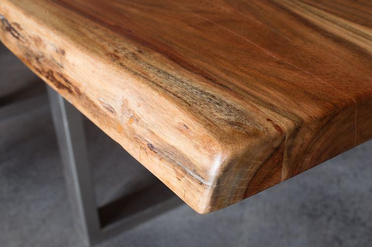 Acacia freeform table