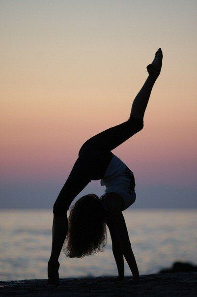 I really like gymnastic because when I do it, I always want to try new moves and be better. I wish I could get flexible like the girl in that picture.
