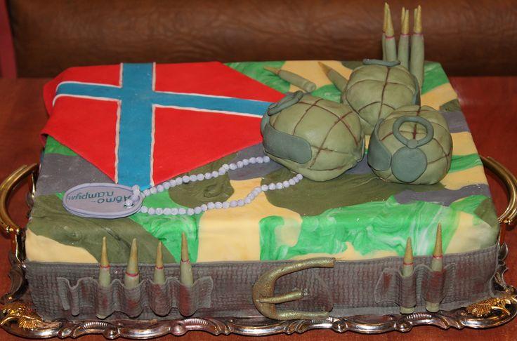 военный торт