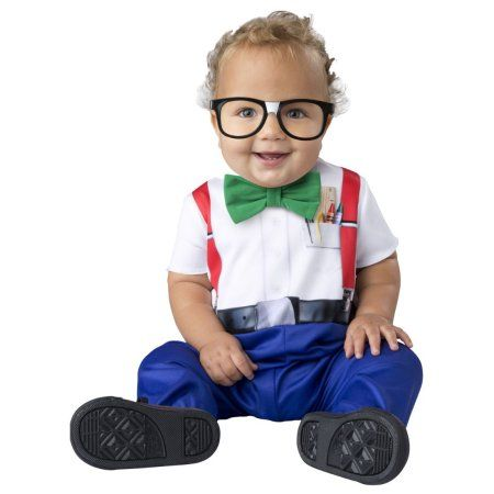 Baby Baby Clothing Baby Nerd Halloween Costume, Infant Boy's, Size: 12 - 18 Months, Multicolor