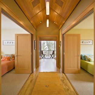 Hallway - contemporary - hall - portland - Emerick Architects
