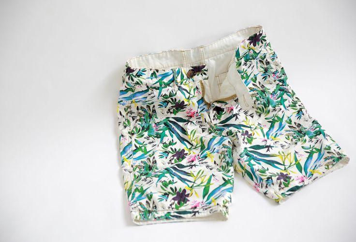Korte broek twee kanten te dragen!