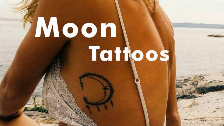 27 Spectacular Small Moon Tattoos