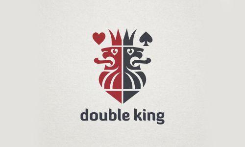 Double King Logo by Veronika Žuvi?