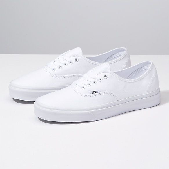 7b3d25ecf4 Vans Authentic in white
