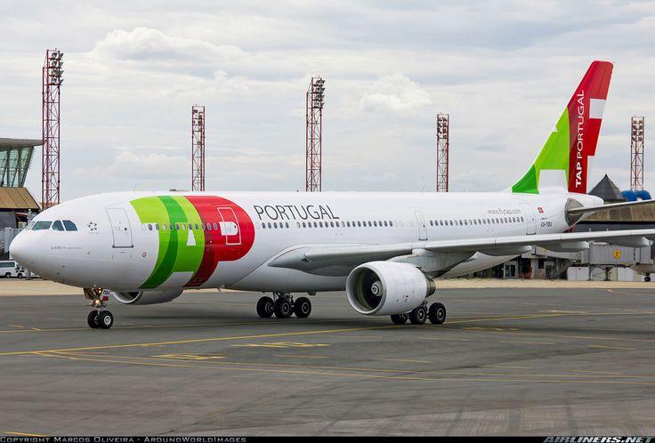 "TAP Portugal Airbus A330-223 CS-TOJ ""D. Joao II, O Principe Perfeito"" at Brasília-International, May 2012. (Photo: Marcos Oliveira - AroundWorldImages)"