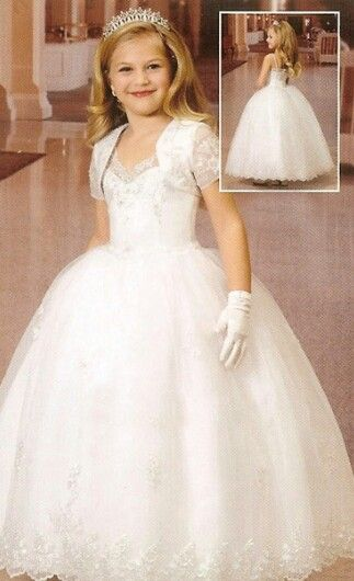 17 Best ideas about First Communion Dresses on Pinterest ...