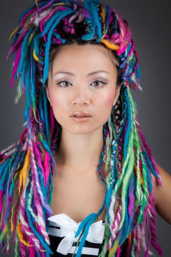 21 Yarn Braid Hairstyles and How to do Yarn Braids