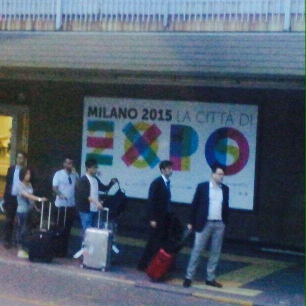 Comienza la recolección por Milán.
