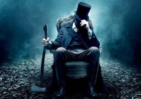 "'Abraham Lincoln: Vampire Hunter' -  ""When, and why, does a #President who made history become the sort of person who knocks on an unfamiliar door late at night, pulls out an axe, and chops off a vampire's head?"" http://nyr.kr/LBqXTh"