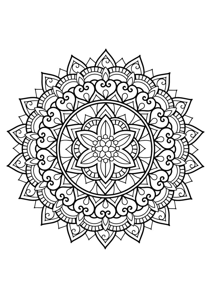 Here are Difficult Mandalas Coloring pages for adults to print for free. Mandala is a Sanskrit word which means a circle, and metaphorically a universe, environment or community. For centuries, in many cultures (eg Tibet), the Mandala is used as a tool to facilitate meditation. Those suggested here are of various styles and levels of difficulty, ranging from complex to complex ! NEW: Discover our new website 100% Free Mandalas to print and color (for children and adults) : www.free-man...