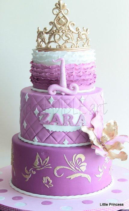 Princess Birthday Cake - - - I'd make one for Thara