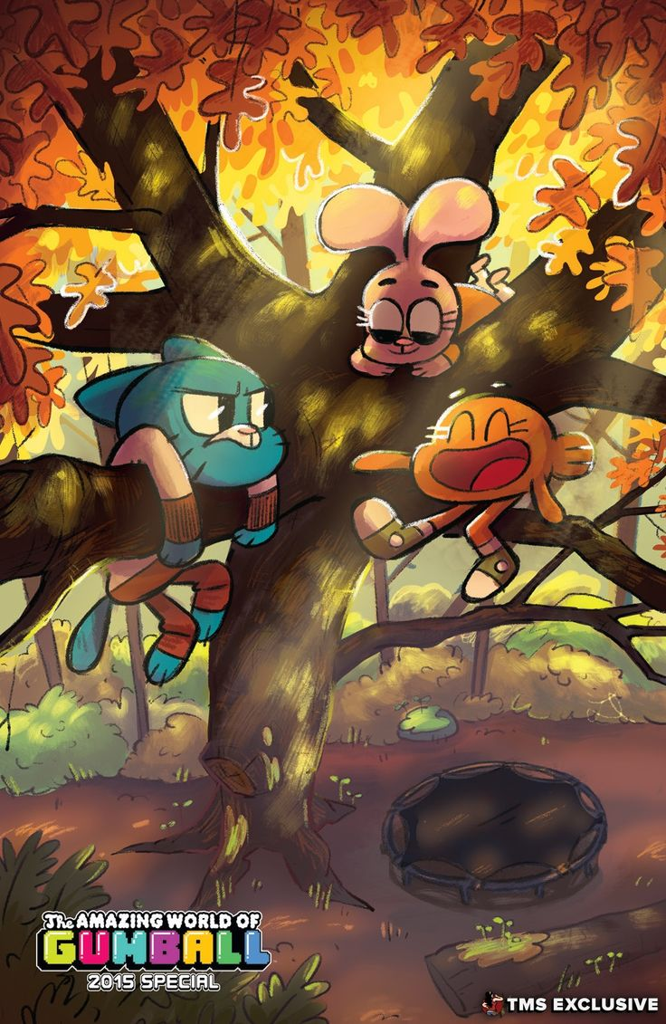 The Mary Sue Exclusive Preview: The Amazing World of Gumball 2015 Special