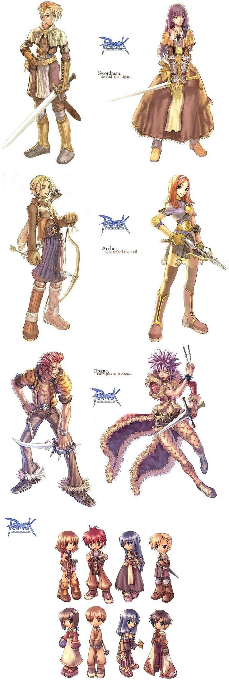 Game Anime Character Design Book : Ragnarok online favorite video games pinterest