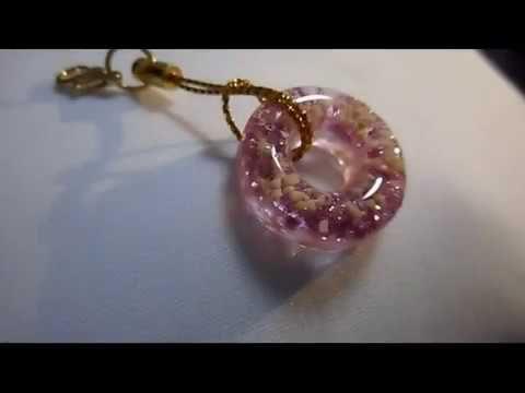 【UVレジン】かわいすぎるリングチャーム resin cute jewelry - YouTube