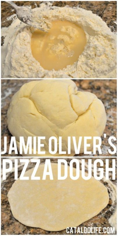 Jamie Oliver's Pizza Dough! A really easy recipe with a step-by-step how to guide-with pictures!