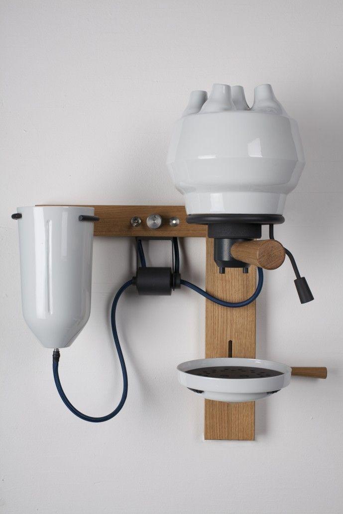 Seppl | Espresso machine in porcelaine by Arvid Hausser: Espresso Machine, Appliances, Ambient 2012, Cynhyrchion Memorial, Arvid Hausser, Seppl Espresso, 360 Blog, Convenience Coff, Coff And Bodum