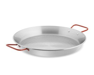 Paella Pan #williamssonoma -- Typical carbon steel paella pan is all you need to make the traditional dish.
