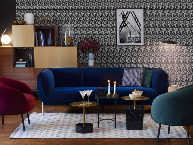 14 Conseils Pour Adopter Le Velours Salon Habitat Rangement