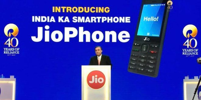 JioPhone Price is Rs. 0, but with Rs. 1,500 Deposit, 4G VoLTE, Unlimited Data