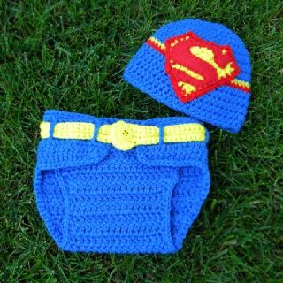 Superman Baby Shower | Superman Baby Beanie