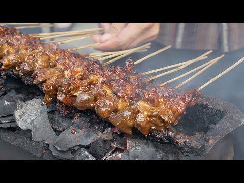 Sate Madura in Jakarta - YouTube