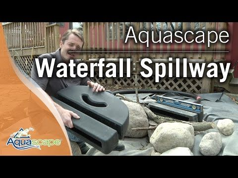 Aquascape - 77000 Waterfall Spillway – Yard Outlet