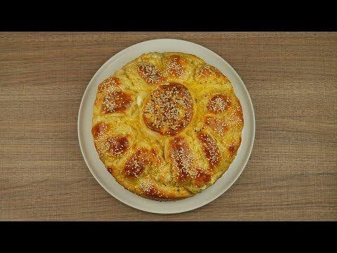 Αφράτο αλμυρό κέικ (Πλεξούδα) - YouTube