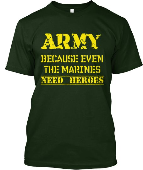Army is where it's at.