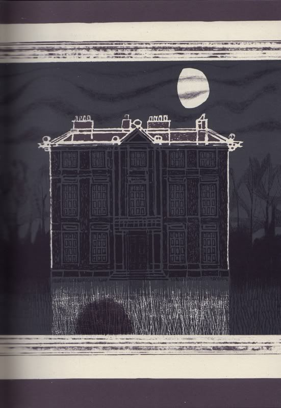 """Ghost Stories of M.R. James"" illustrated by Charles Keeping"