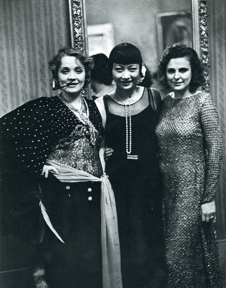 AMAZING! Marlene Dietrich, Leni Riefenstahl and Anna May Wong