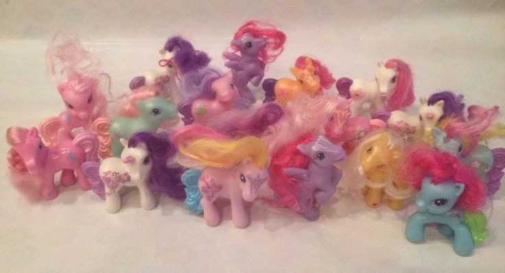 My Little Pony Toy Food : My little pony mlp mcdonalds figures lot older recent fast