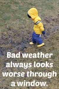 10 Quotes on getting kids outside to play!