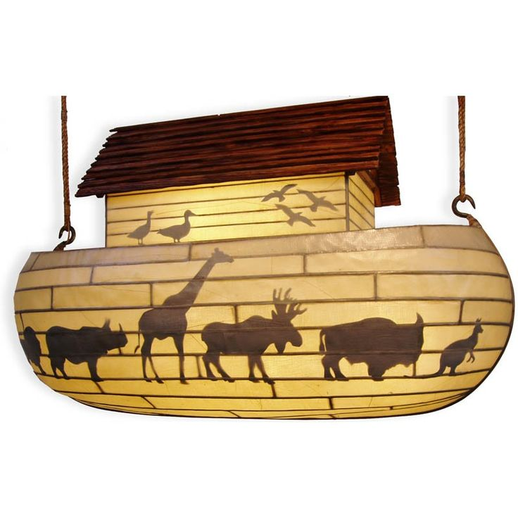 Noah's Ark Chandelier By Steve Bewley And 360SEE Is Made